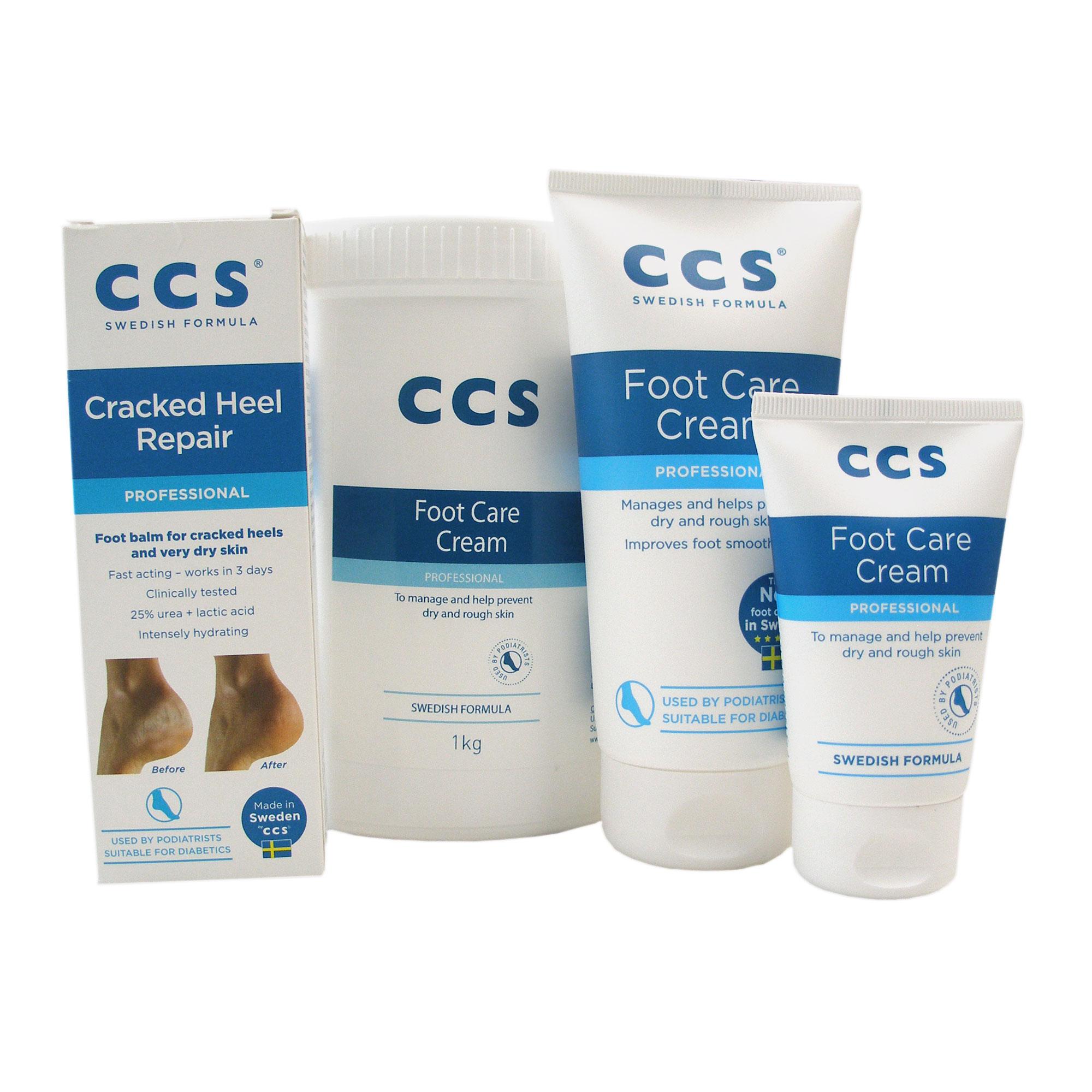 CCS Swedish Foot Care Cream \u0026 Heel Balm
