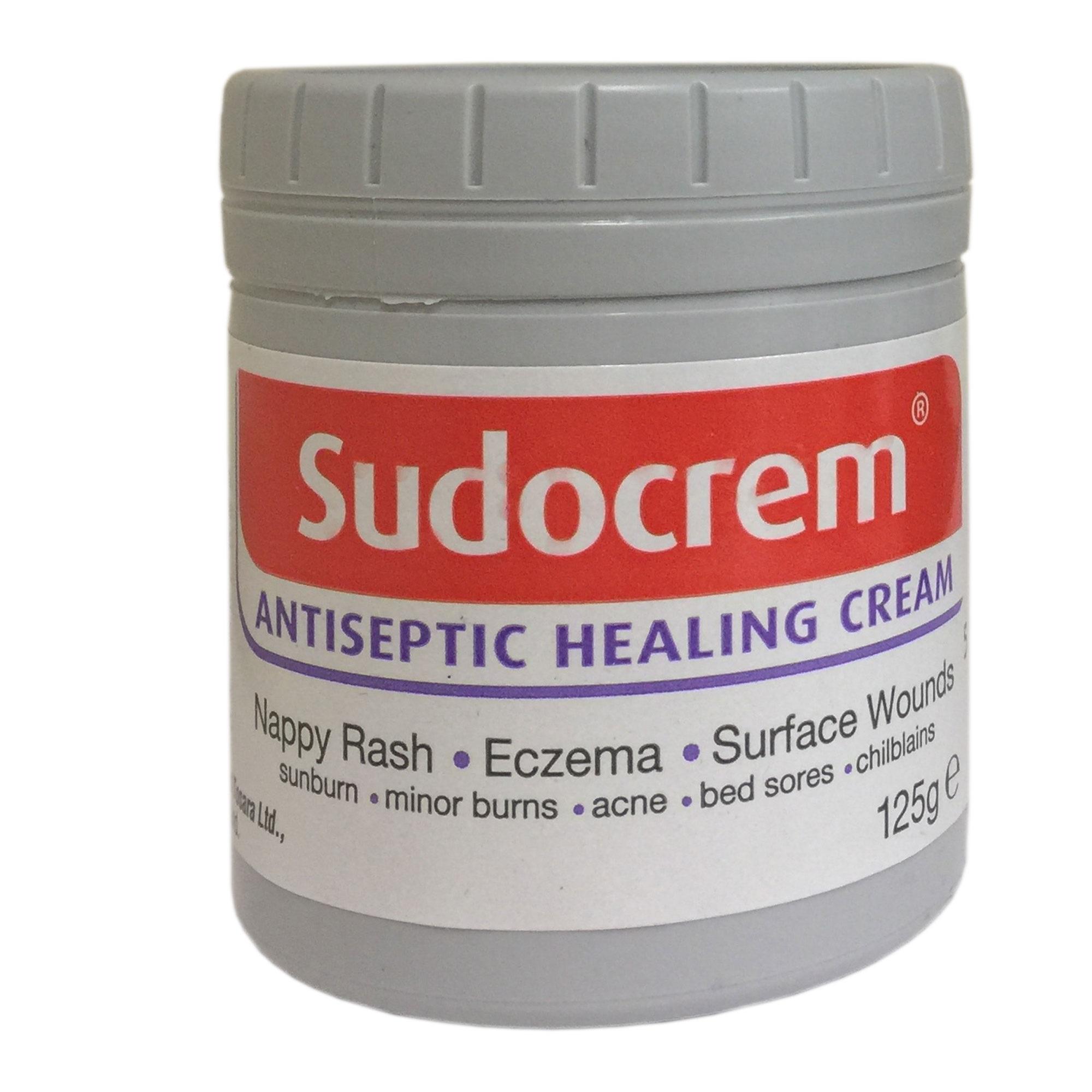 Sudocrem Antiseptic Healing Cream Nappy Rash Eczema Acne Relief 125g